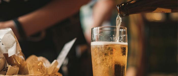 cerveza sin alcohol artesana