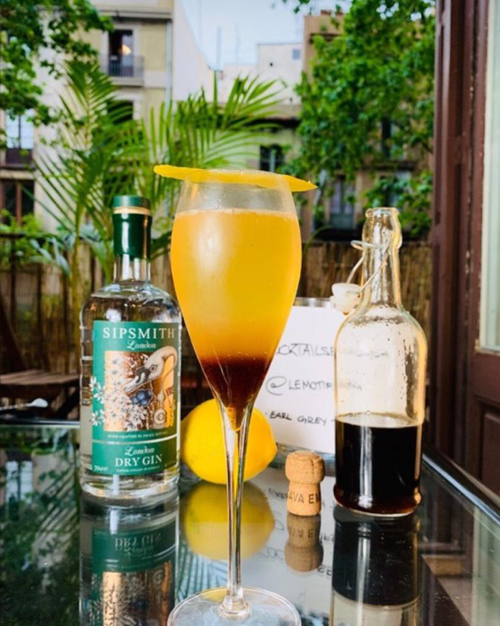 earl grey 75 le motif cocktail