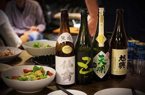sake japones gastronomía